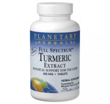 Turmeric Extract, Full Spectrum 450mg Tablets