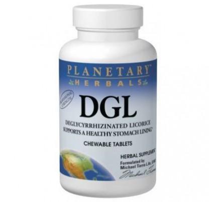Licorice DGL Deglycyrrhizinated Chewable 380mg Tablets