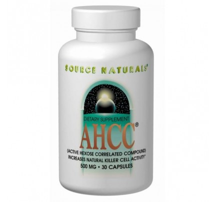 AHCC - Active Hexose Correlated Compound 500 mg 30 Vegetarian Capsules