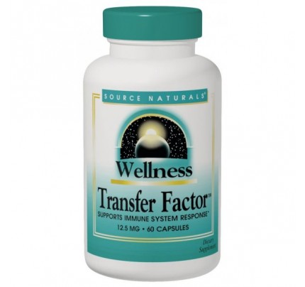 Wellness Transfer Factor 125 mg 60 Vegetarian Capsules