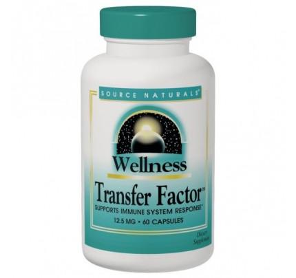 Wellness Transfer Factor 125 mg 60 Capsules