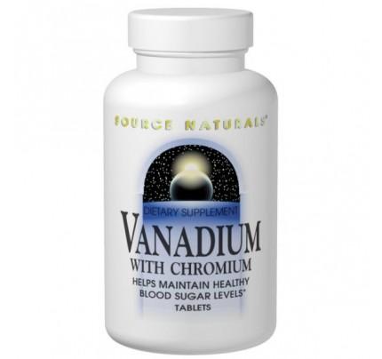 Vanadium with Chromium 1,200 mcg Tablets