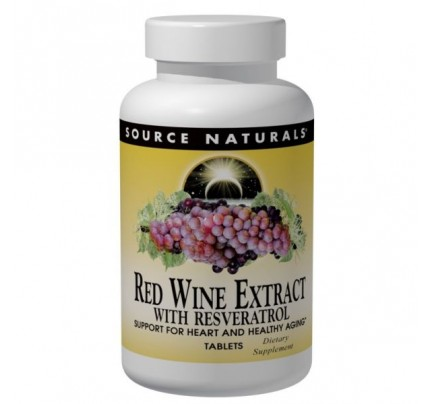 Red Wine Extract with Resveratrol Tablets