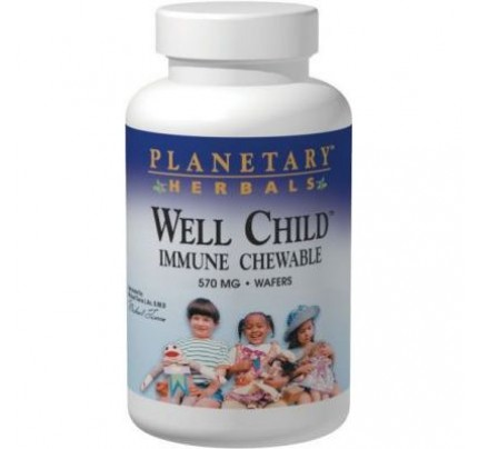 Well Child Immune Chewable 570mg Wafers