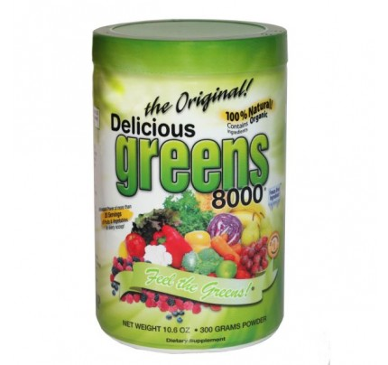 Delicious Greens 8000 Original Flavor 10.6oz.