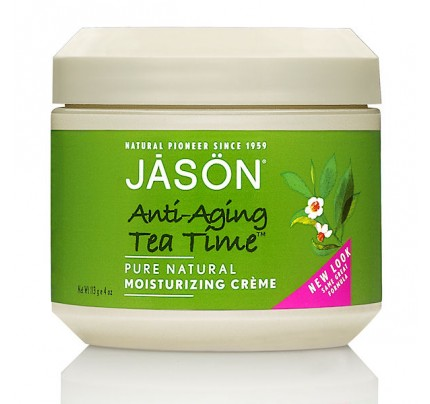 Tea Time Anti-Aging Green Tea Moisturizing Creme 4 oz.