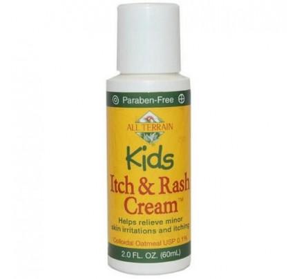 Kids Itch & Rash Cream 2oz.