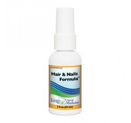 Homeopathic Hair & Nails Formula 2oz.
