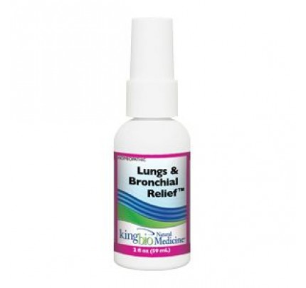 Homeopathic Lungs & Bronchial Relief 2oz.