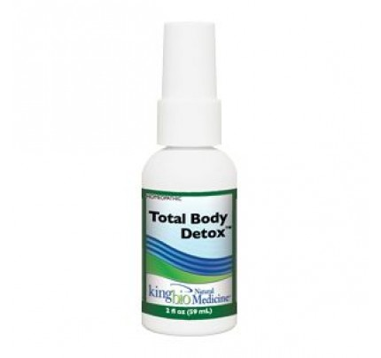 Homeopathic Total Body Detox 2oz.