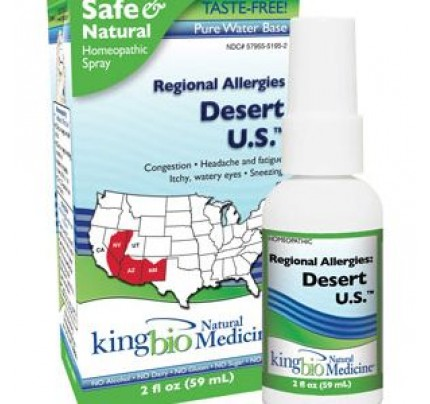 Homeopathic Regional Allergies: Desert U.S. 2 fl. oz.