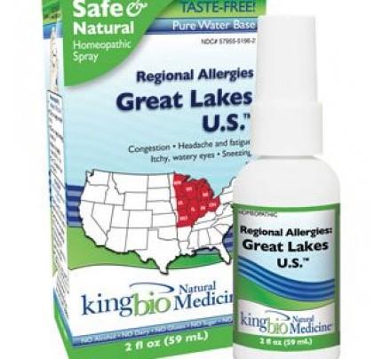 Homeopathic Regional Allergies: Great Lakes U.S. 2oz.