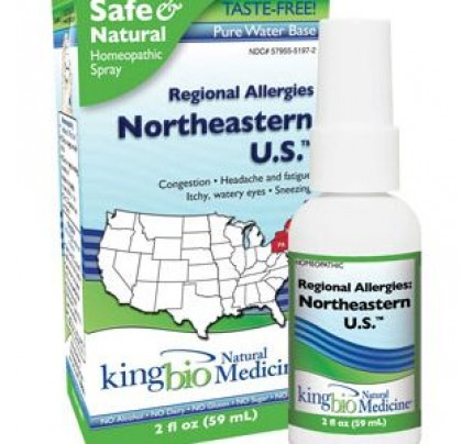 Homeopathic Regional Allergies: Northeastern U.S. 2 fl. oz.