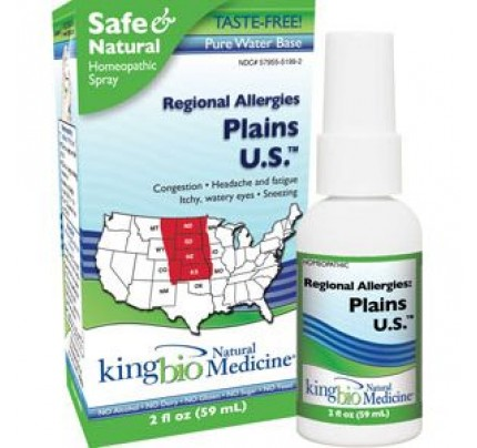 Homeopathic Regional Allergies: Plains U.S. 2oz.