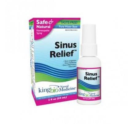 Homeopathic Sinus Relief 2oz.