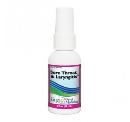 Homeopathic Sore Throat & Laryngitis 2oz.