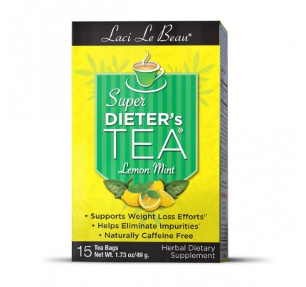 Super Dieters Tea Lemon Mint 15 Teabags