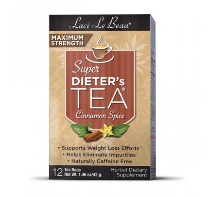 Super Dieter's Tea Max Strength Cinnamon Spice 12 Teabags