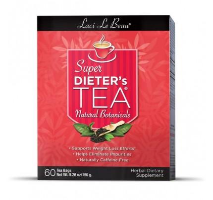 Super Dieter's Tea Original Herb 60 Teabags