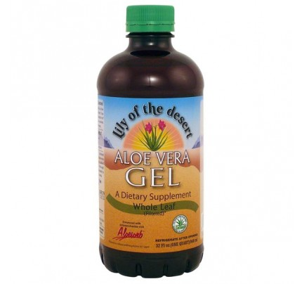 Aloe Vera Gel Whole Leaf 32 oz.