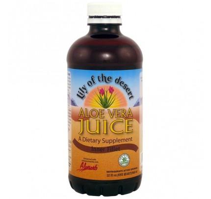 Aloe Vera Inner Fillet Juice 32 oz.