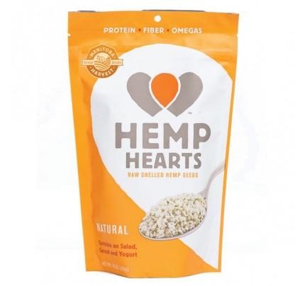 Hemp Hearts Natural Raw Shelled Hemp Seeds 16 oz. (454 g)