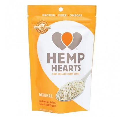 Hemp Hearts Natural Raw Shelled Hemp Seeds 2 oz. (56.7 g)