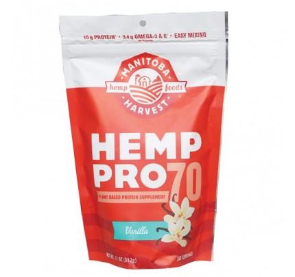 Hemp Pro 70 Protein Powder Vanilla