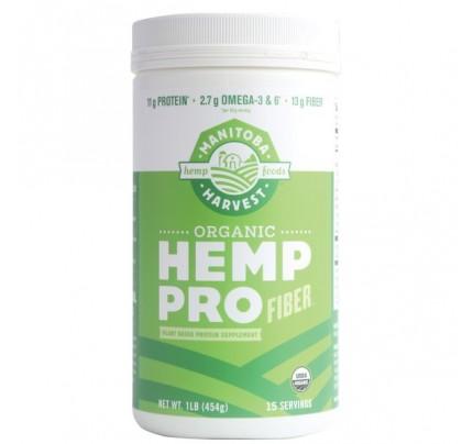 Hemp Pro Fiber Organic Protein Powder