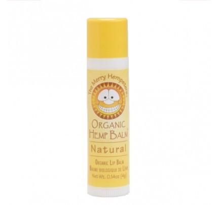Organic Hemp Lip Balm Natural Unscented 0.14 oz.