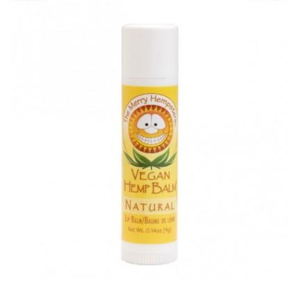 Vegan Hemp Lip Balm Natural Unscented 0.14 oz.
