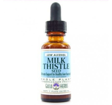 Milk Thistle Seed Low Alcohol Extract