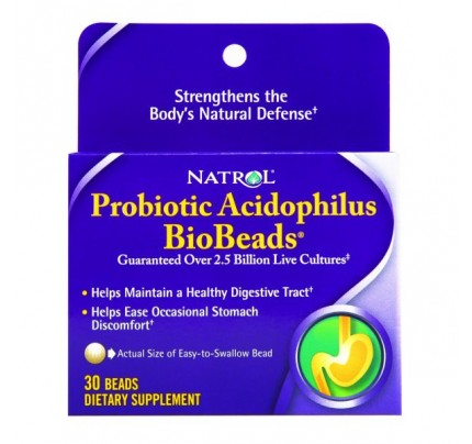 BioBeads Probiotic Acidophilus 30 Tablets