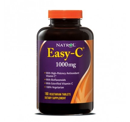 Easy C 1,000mg with Bios 180 Vegetarian Tablets
