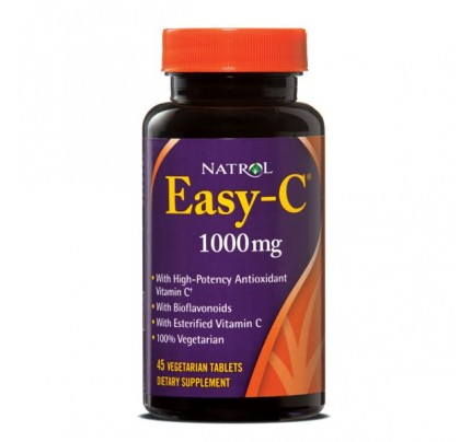 Easy C 1,000mg with Bios 45 Vegetarian Tablets
