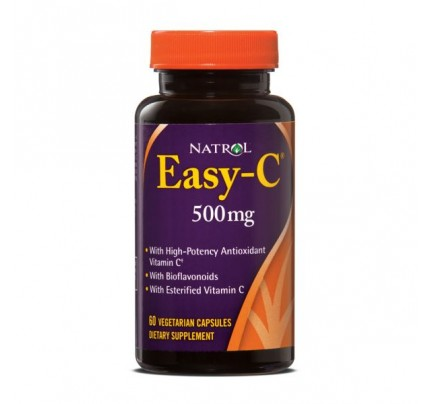 Easy C 500mg with Bios 60 Vegetarian Capsules