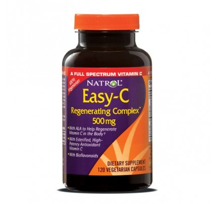 Easy C Complete Spectrum 500mg with Bios 120 Vegetarian Capsules