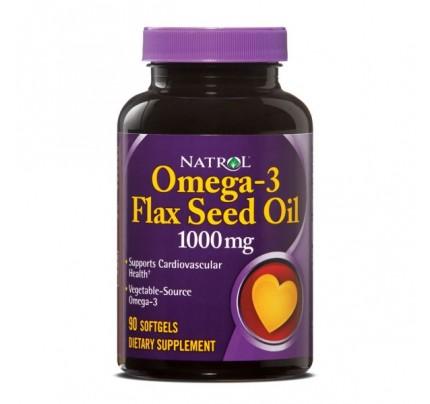 Flax Seed Oil 1,000mg 90 Softgels