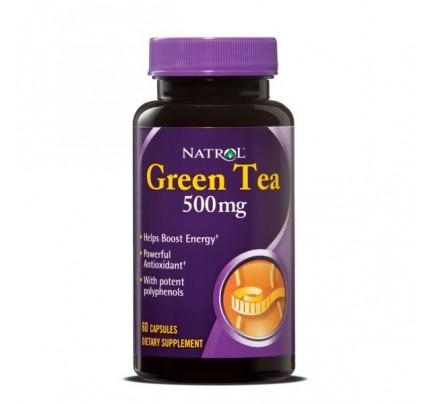 Green Tea 500mg 60 Capsules
