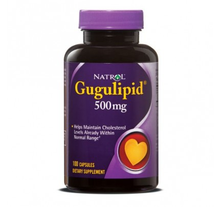 Guggulipid 500mg 100 Capsules