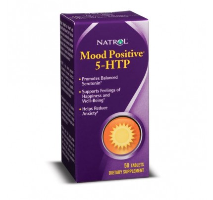 Mood Positive 5-HTP 110mg 50 Tablets