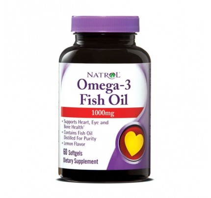 Omega-3 1,000mg 60 Softgels