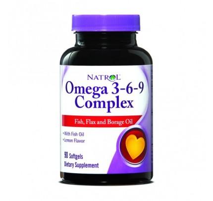 Omega-3 Complex 55% 3-6-9 90 Softgels