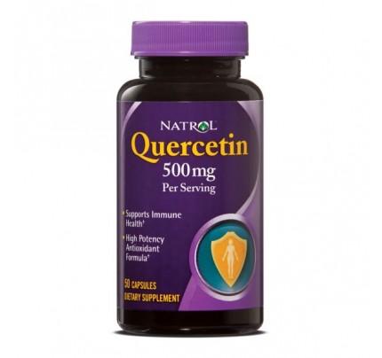 Quercetin 500mg plus Vitamin C & Citrus Bioflavonoids 50 Capsules