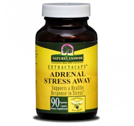 Adrenal Stress Away 210 mg 90 Extractacaps Liquid Vegetarian Capsules