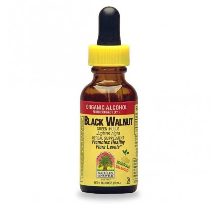 Black Walnut Hulls Extract 1oz.