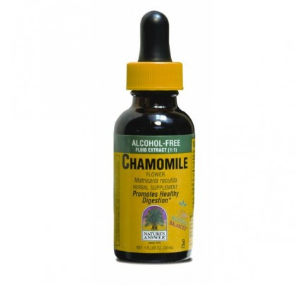 Chamomile Flowers Organic Alcohol-Free Extract 1oz.