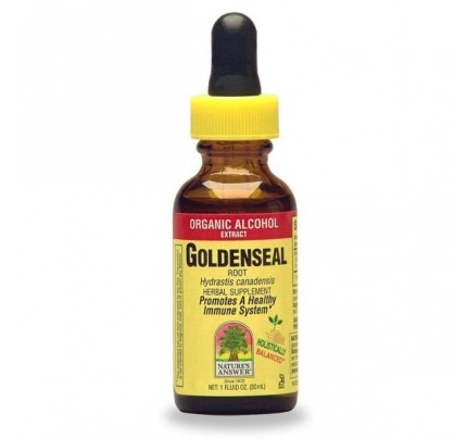 Goldenseal Root Extract Low Alcohol 1oz.