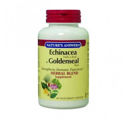 Echinacea-Goldenseal 60 Vegetarian Capsules