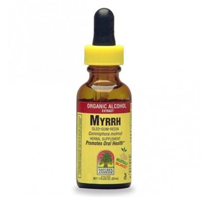 Myrrh Gum Extract 1oz.